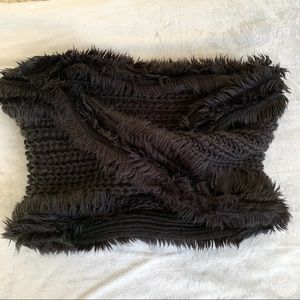Anthro Leith Cable Knit Twist Infinity Scarf NWOT